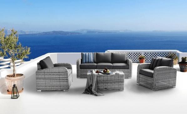 Výhody a nevýhody plastového zahradního nábytku