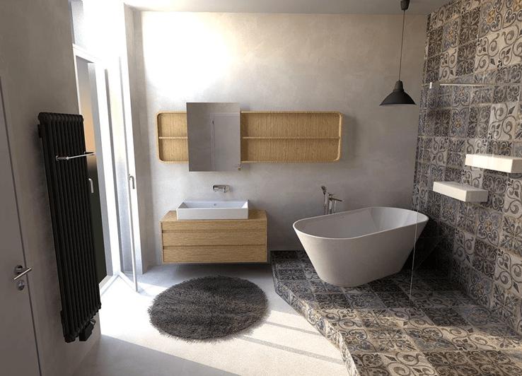 Inspirace pro koupelny – 20 nejlepších návrhů koupelen s designovými radiátory Zehnder