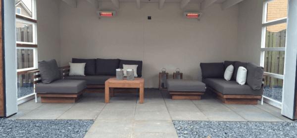 Terasové ohřívače vám zajistí pohodlné posezení na čerstvém vzduchu i za chladných dnů
