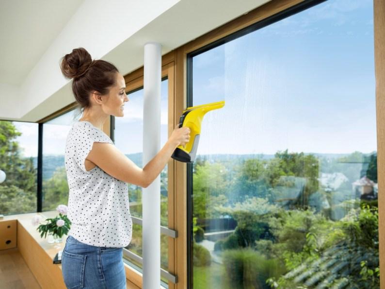 Snadnější a rychlejší mytí oken