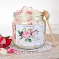 DIY Rose Petal & Lavender Sugar Scrub