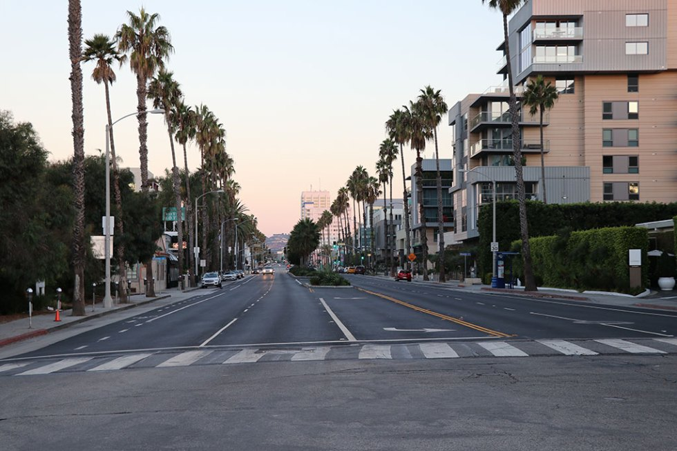 Los Angeles Santa Monica Venice Beach - Rejse til det vestlige USA