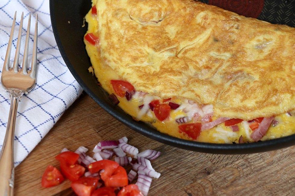 Opskrift på marokkansk omelet