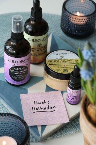 Naturlige olier til hud & hår + en snak om holistisk livsstil