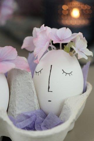 DIY: Påskedekoration med æg