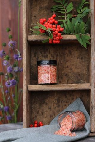 Salt med rønnebær - opskrift på hjemmelavet kryddersalt