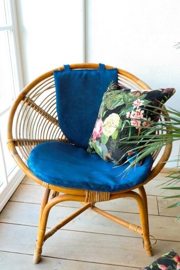 DIY opdatering af gamle stole - sy selv nye hynder