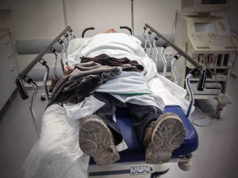 Reitunfall_Spital Der Knochenbruch