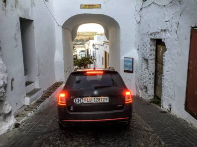 Autofahren in Andalusien Engpass