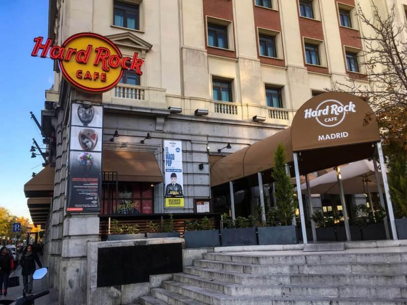 Wochenende in Madrid - Hard Rock Cafe