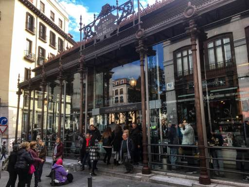 Wochenende in Madrid - Mercado