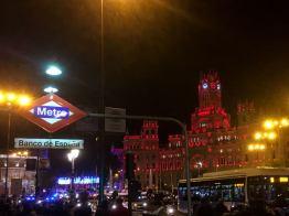 Wochenende in Madrid - Metro Banco De Espana