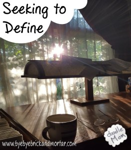 Seeking to Define