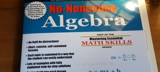 No-Nonsense Algebra