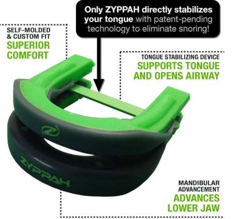 Zyppah 2 In 1 Snoring Solution