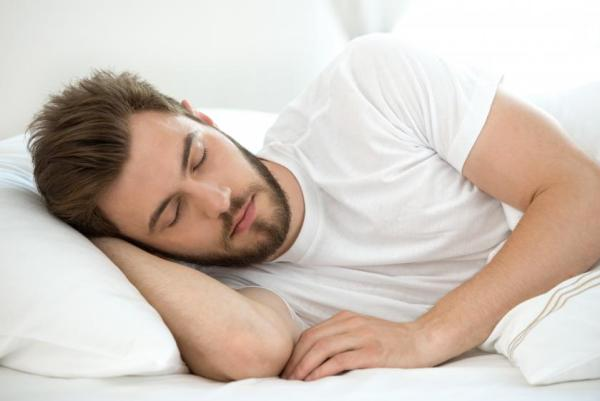 Man Sleeping On Side