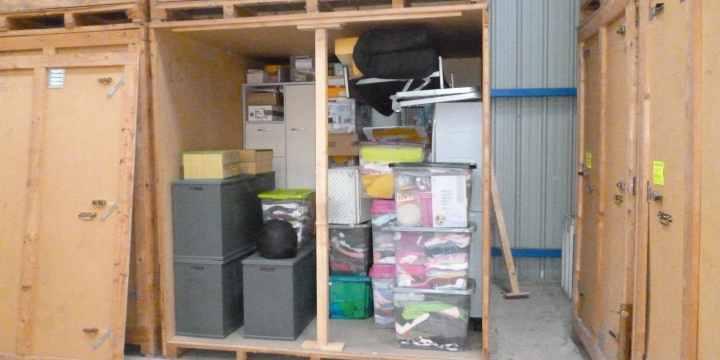 N'ai-je pas d'autres solutions que de stocker dans un garde-meuble ?