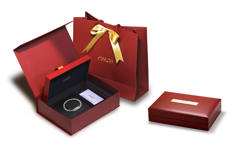 platinum bracelet ByEnzo Pt950 leather gift box