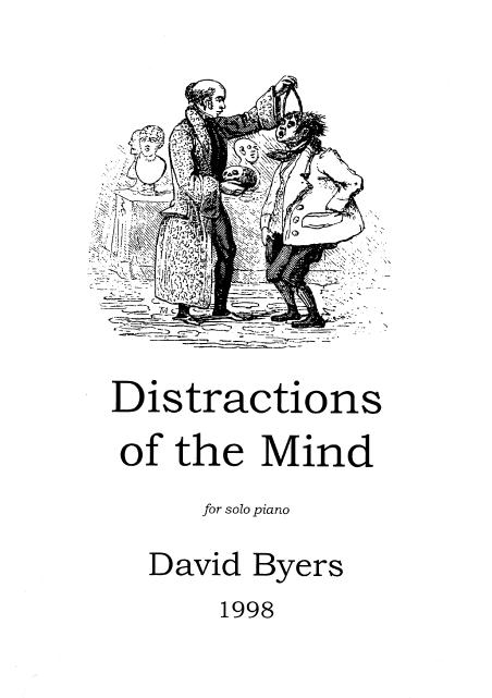 Programme notes for some works by David Byers