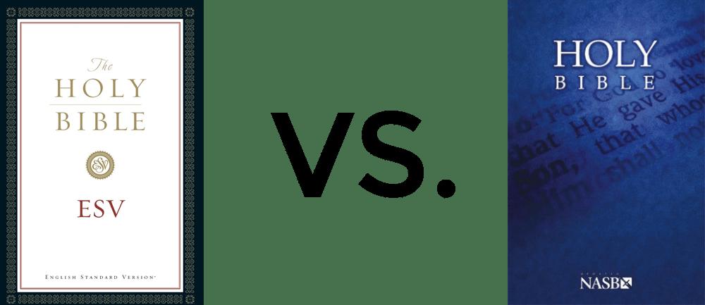 esv vs nasb