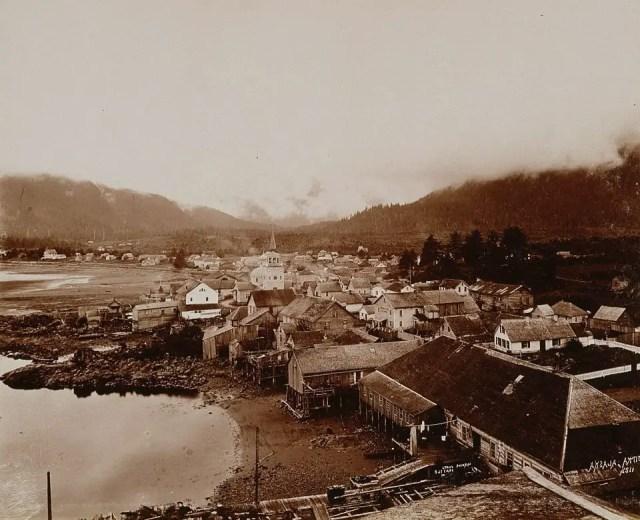 Sitka, Alaska, 1892.