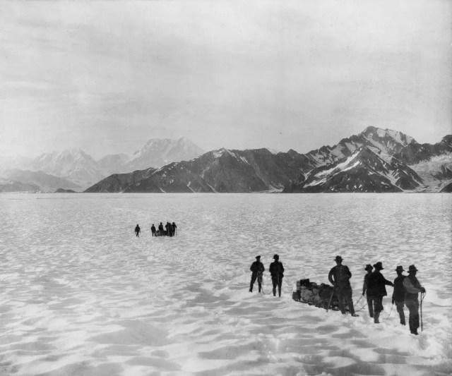 Mounts Malaspina, Augusta and Hitchcock, Alaska, 1897.