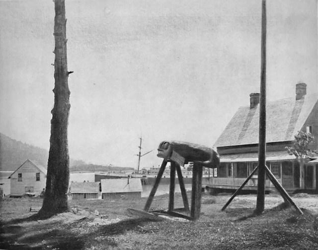 Fort Wrangel, Alaska', circa 1897.