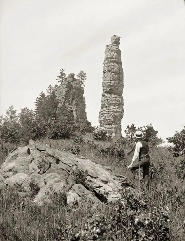 Pillar Rock, Fort Danger, 1860s.