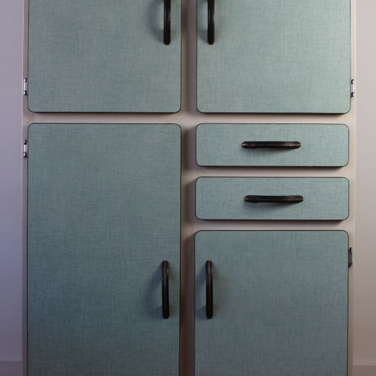 French Formica Kitchen Unit Larder – 1930's