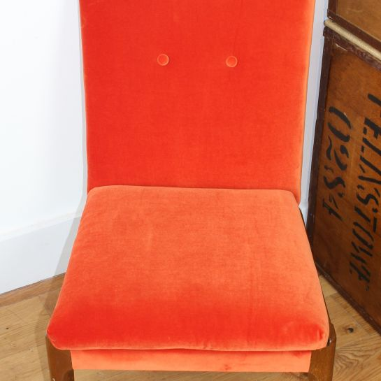 Burnt Orange Parker Knoll Chair – 1960's