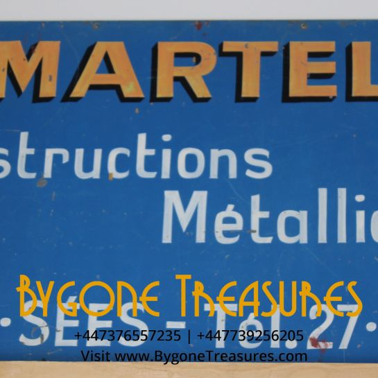 Martel French Builders Sign – 1