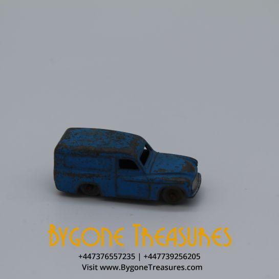 Vintage Meccano Dublo Dinky 1958 Blue Commer Delivery Van #063