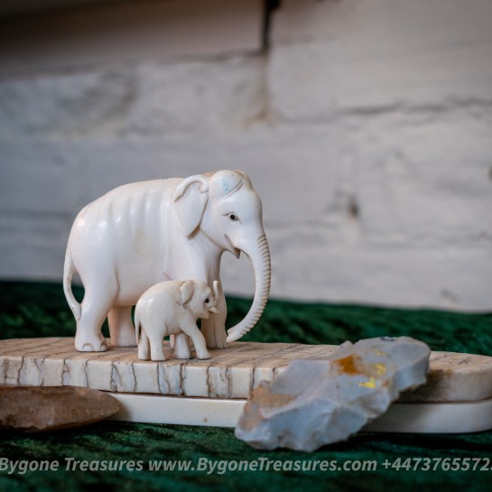 Mammoth Ivory Figurines