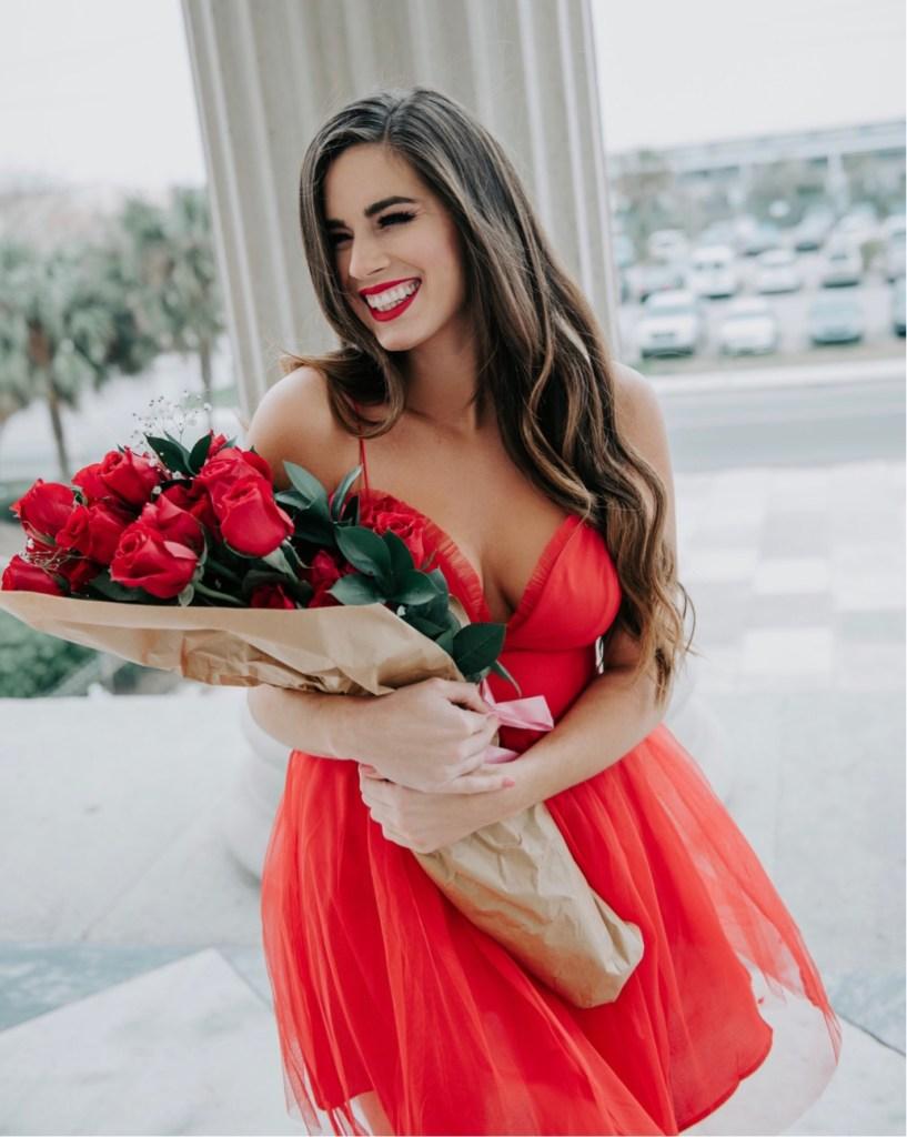 Red Hot Date Night  Dress