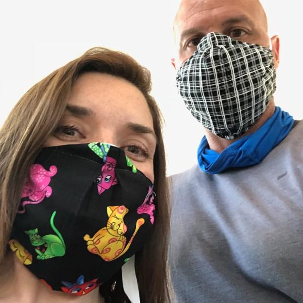 Chrysalis Masks with Safety Silk Insert