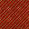 Flannel Diagonal Red