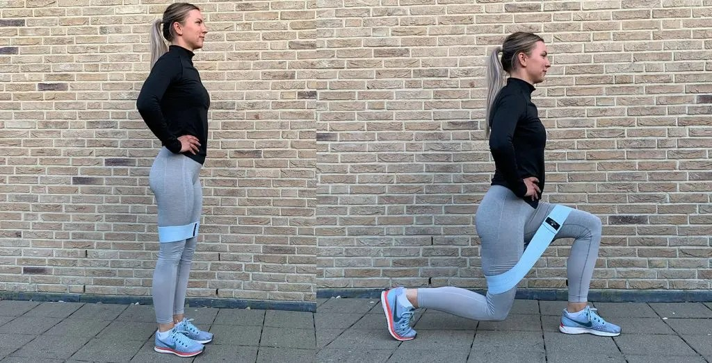 Work-out voor thuis: lunges