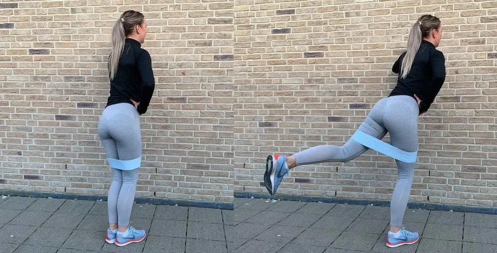 thuis work-out: kick back