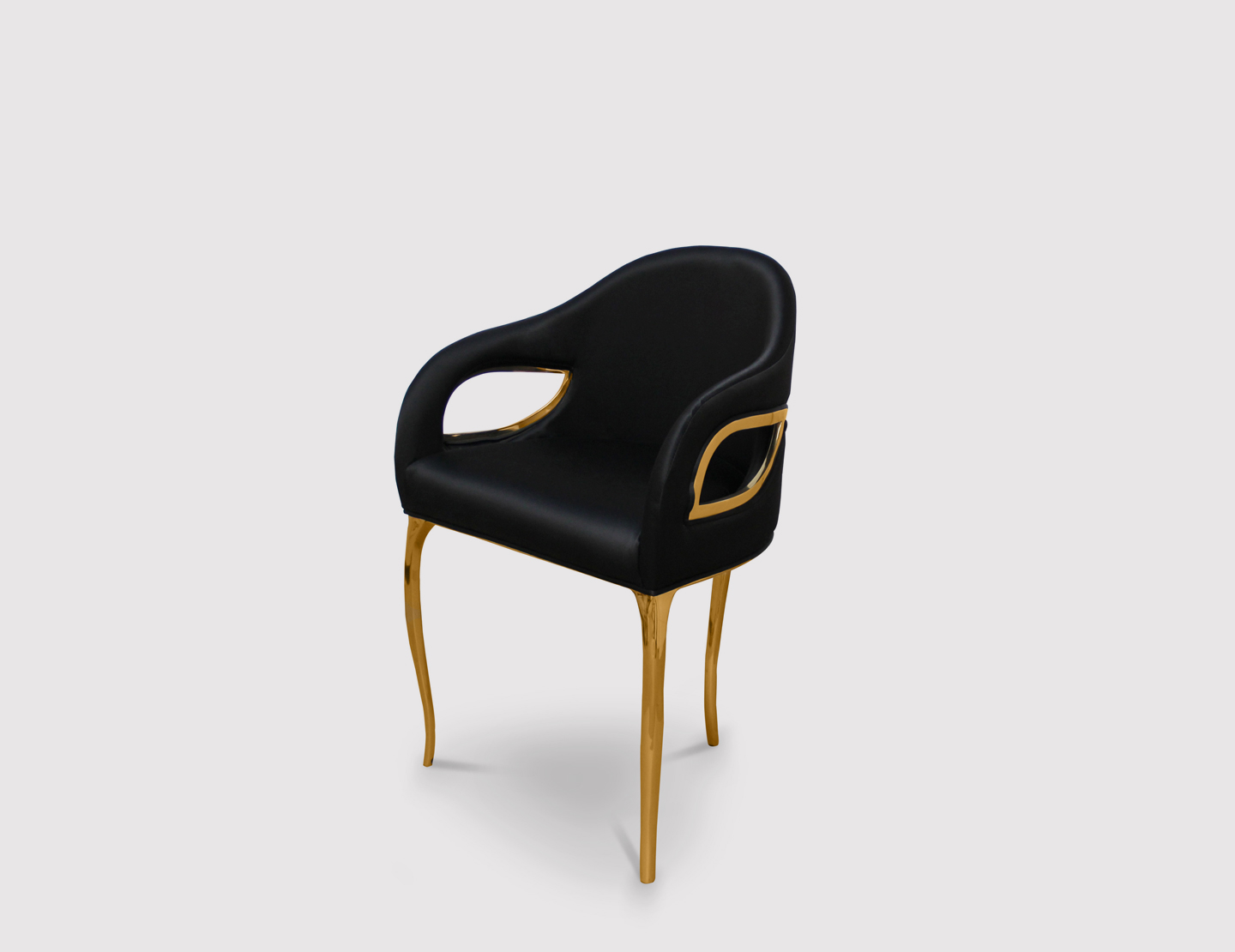 dining chair with armrest swing bedroom chandra luxury by koket