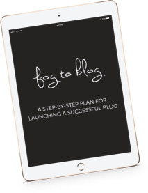Fog To Profitable Blog Course - 6 day FREE email course to take you from fog to full time blog. A blueprint for starting a profitable blogging biz.