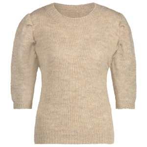 knitted top classic beige