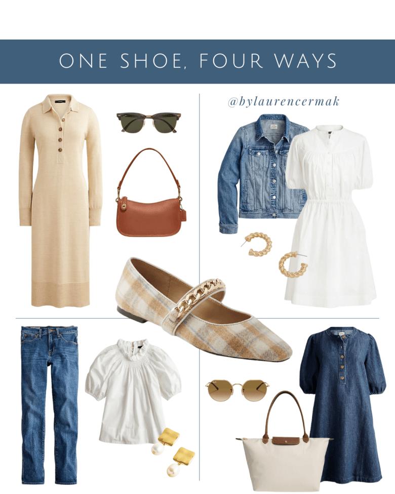 One Shoe, Four Ways