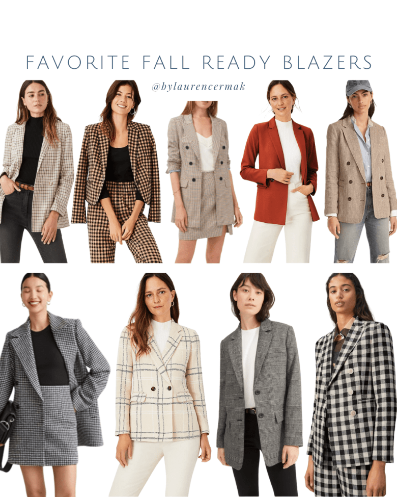 favorite fall ready blazers