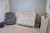 Pink, Grey, and White Nursery | Pink + Gray Nursery | By ...