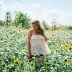 Sunflower Picking Richmond Virginia By Lauren M