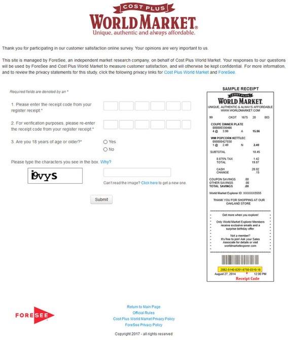 www.worldmarket.com/storesurvey