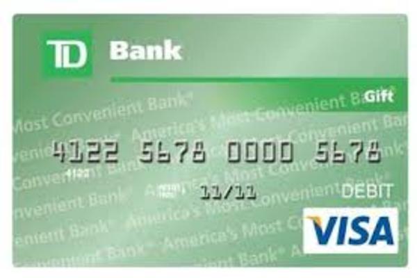 TD Bank Gift Card