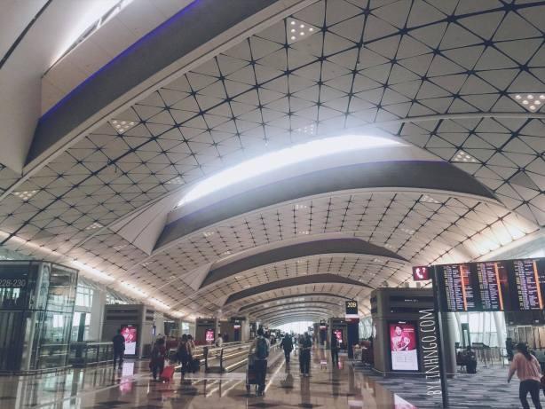 HongKong International Airport.