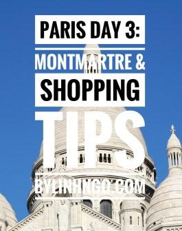 kinh nghiệm mua sắm ở Paris
