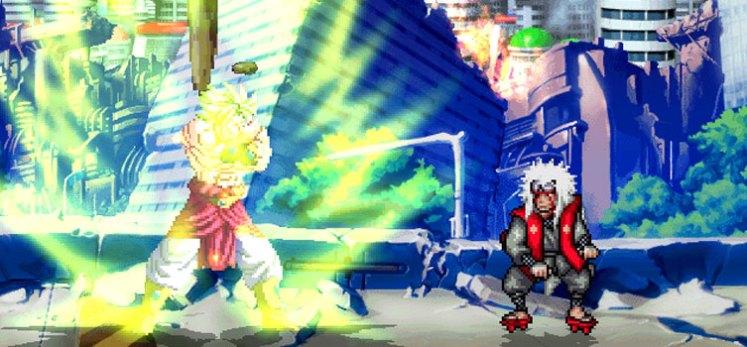 header - Dragon Ball Z vs Naruto Shippuden, LA GRAN BATALLA